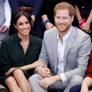 Meghan Markle and Prince Harry Reaction to Officially Stepping Down