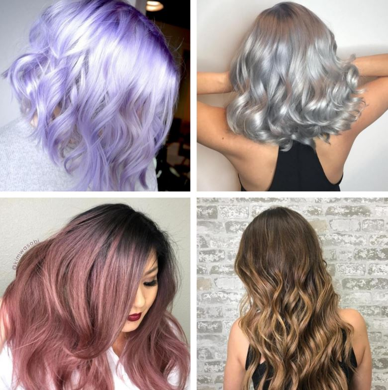 Metallic Hair color
