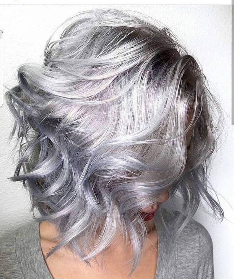 Silver Hair Ideas