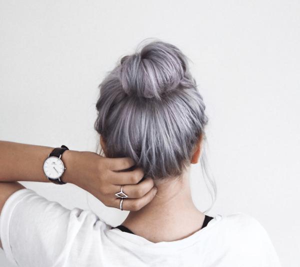 Silver hair 49