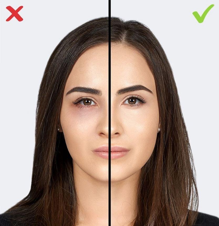 Use corrector makeup