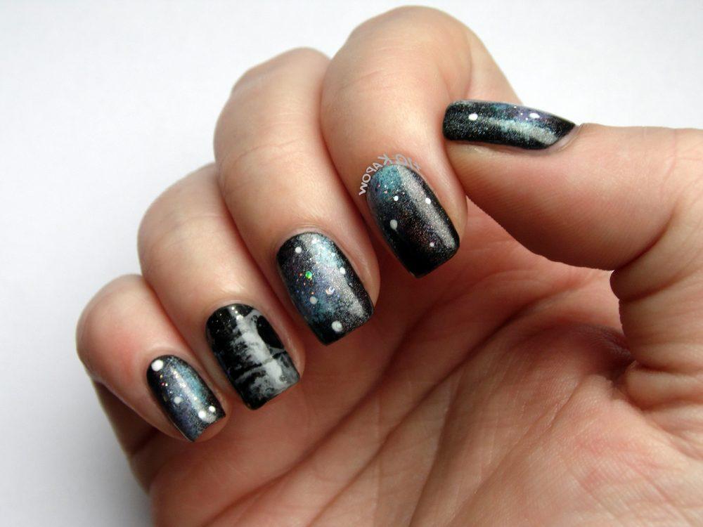 dark sky star nails