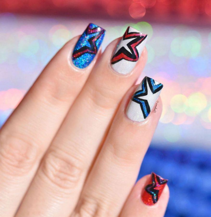 rock stars nails
