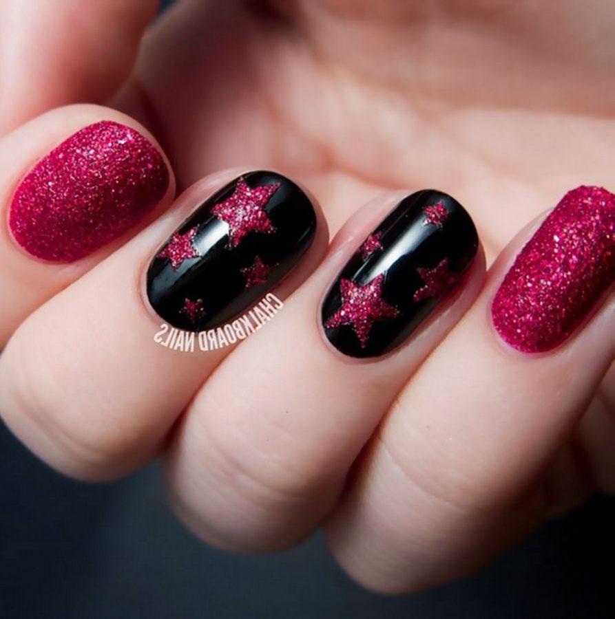 star nails art