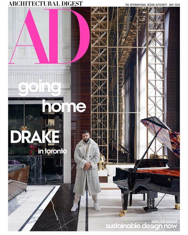 Drake Presents Toronto Mansion to 'Architectural Digest'