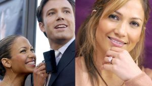 Jennifer Lopez about engagement ring from Ben Affleck