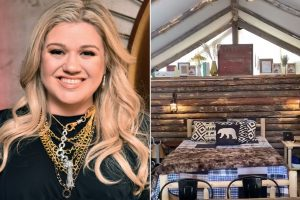 Kelly Clarkson Presented Her House in Montana