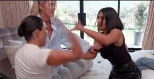 Kim Kardashian entrusted to unpleasant cuts after Kourtney fight