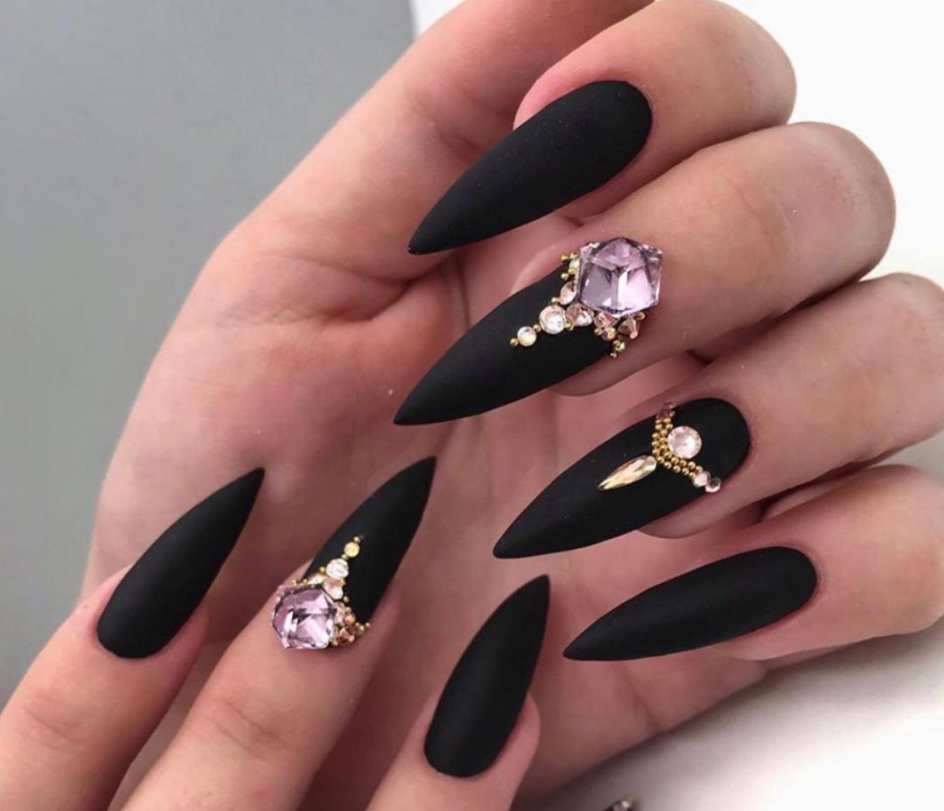 long black Rarity Nails