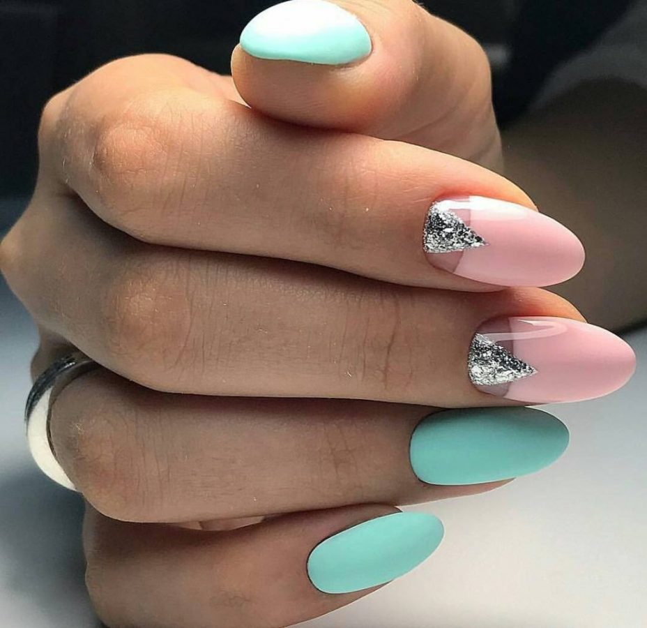 pastel Rarity Nails