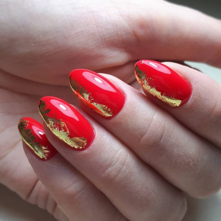 red Rarity Nails