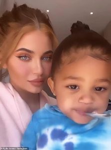 Kylie Jenner delights in pizza and gelato with Stormi and Travis Scott as household quarantines