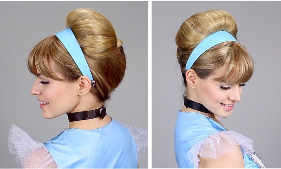 Cinderella Updo Hairstyle
