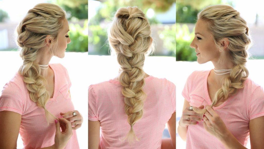 elsa braid hairstyle