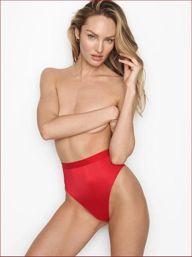 Candice Swanepoel new topless Victoria's Secret campaign
