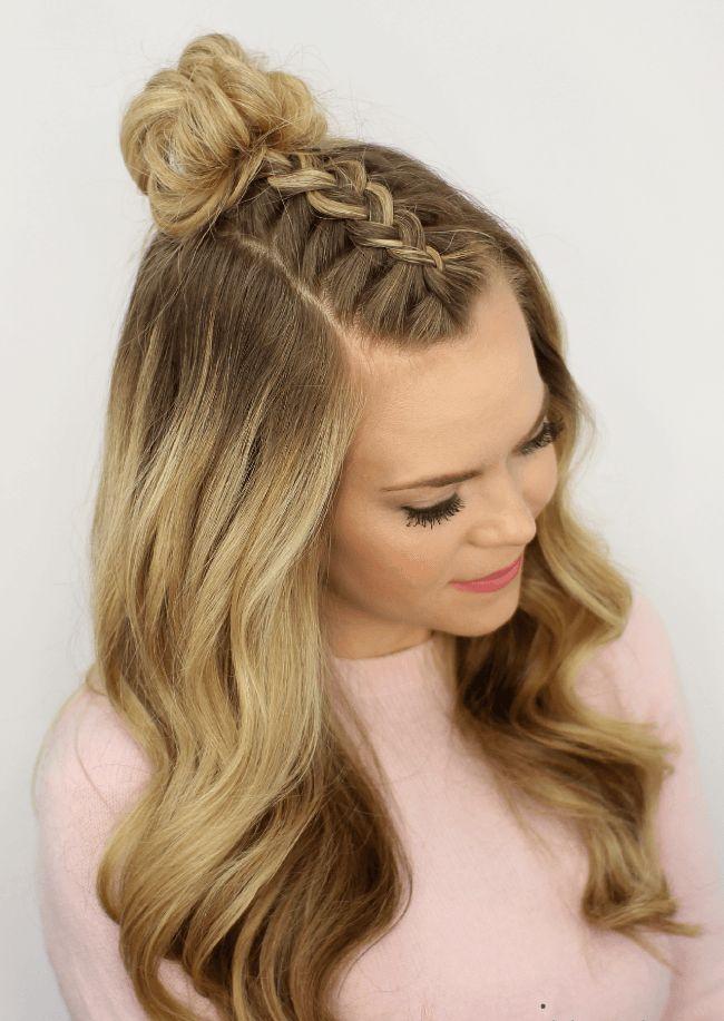 Back Head Braid Hairstyle