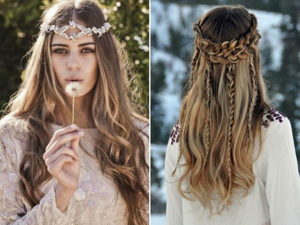 Boho Hairstyle Cowgirl