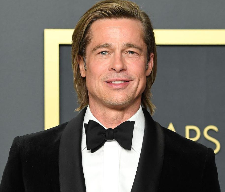 Brad Pitt Has a News Hairstyle in Quarantine