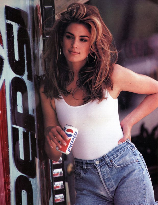 Cindy Crawford Looks Identical to Kaia Gerber in Super Bowl Pepsi advertisement