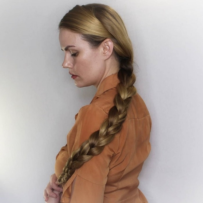 Cowgirl With Braids