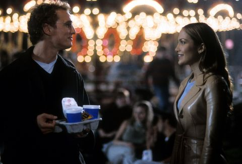Matthew McConaughey is the 'Wedding Planner' for Jennifer Lopez