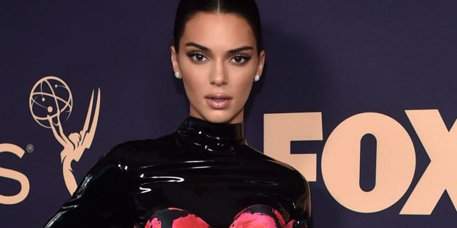 Kendall Jenner attends the 71st Emmy Awards at Microsoft Theater on September 22, 2019 in Los Angeles, Calif.