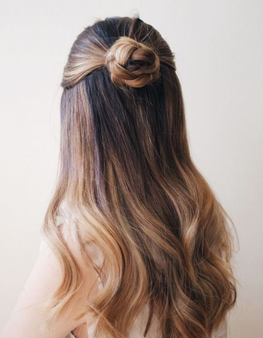 Smooth Boho Hairstyle