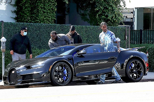 Travis Scott Celebrates Birthday With A New $3 Million Bugatti