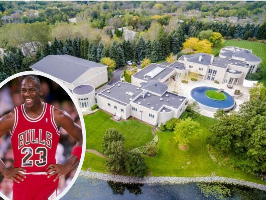Where are Michael Jordan's houses