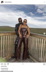 Kanye West celebrates Kim Kardashian signing up with the billionaires club
