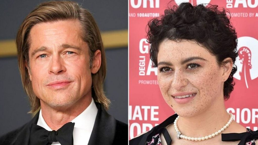 Alia Shawkat deals with Brad Pitt love reports: 'We're just friends'