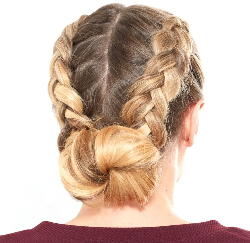 Braided Bun Birthday Hairstyles