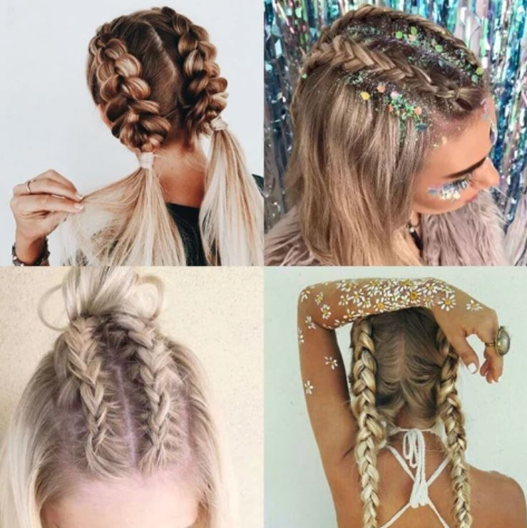 Crazy Rave Hairstyles