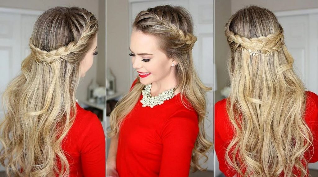 Crown Braid Hairstyle