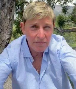 Ellen DeGeneres Emotional Video for Peace