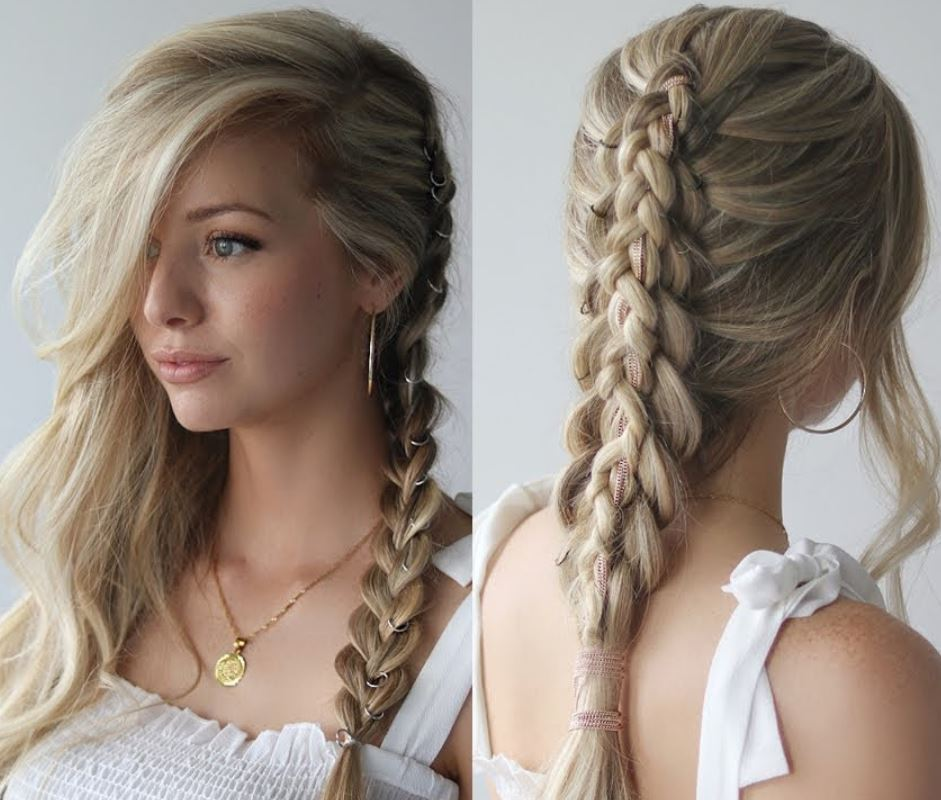 Fishtail Rave Hair