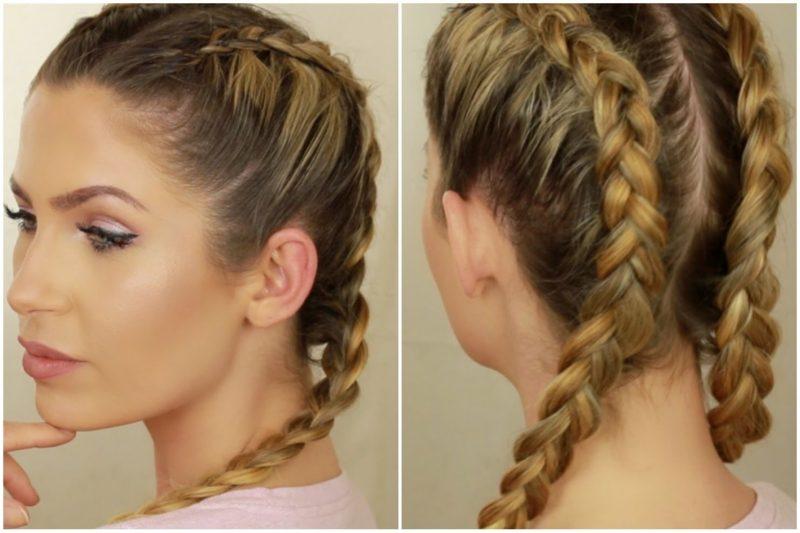 German Hairstyles for long and medium hair