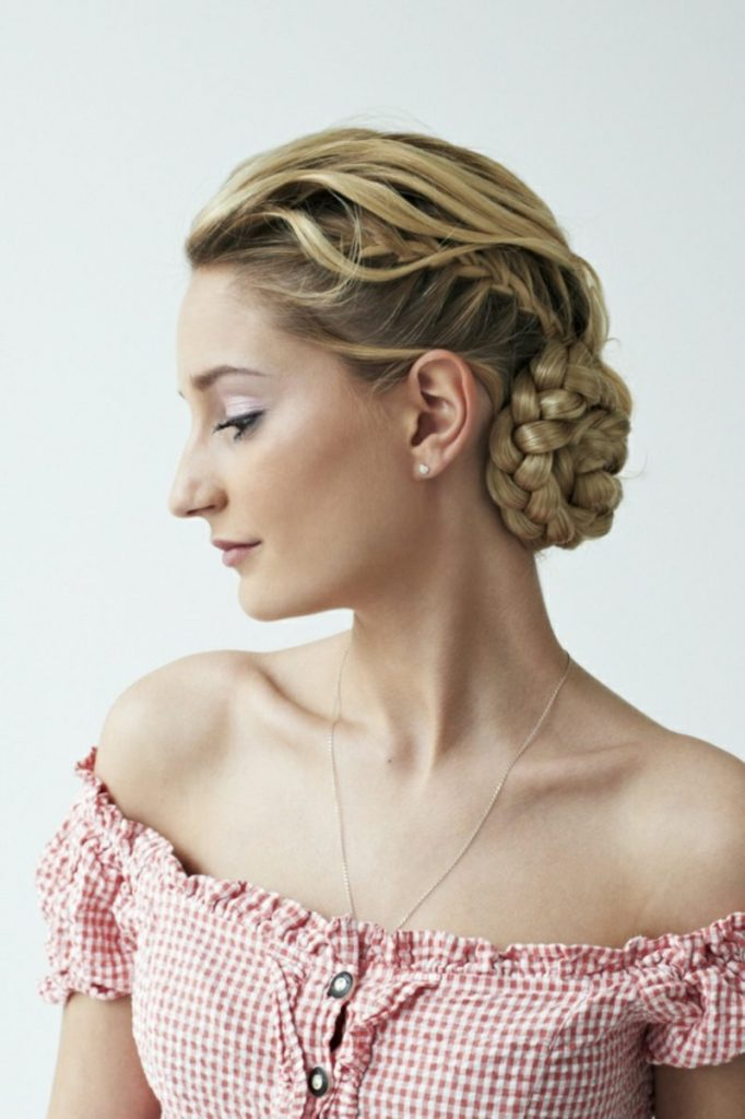 German Updo Hairstyle