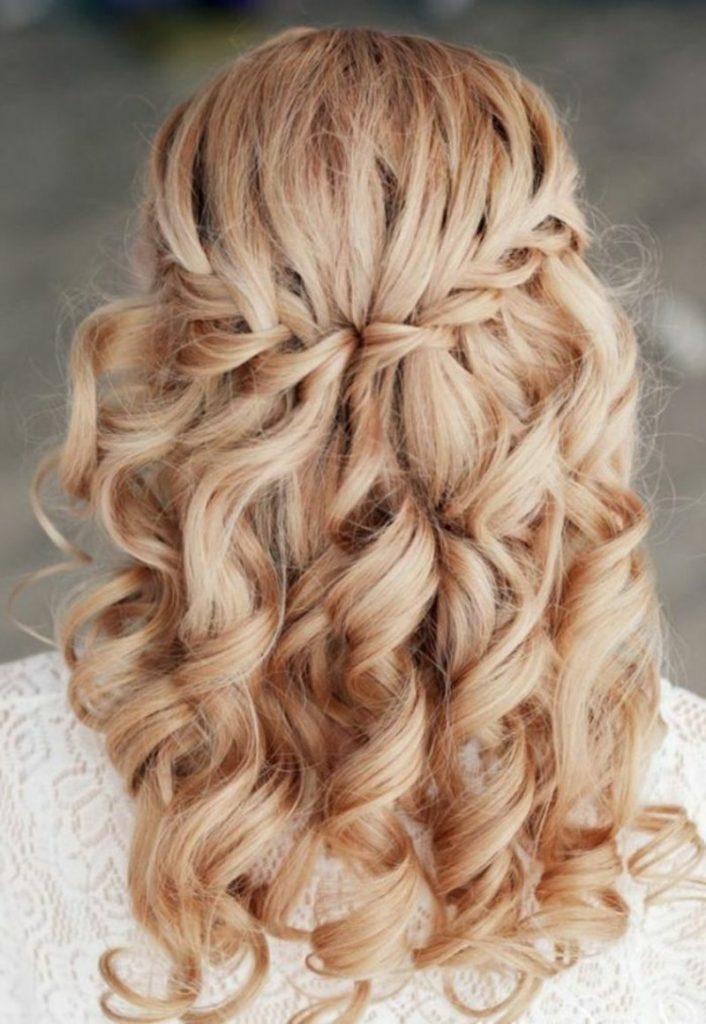 German braided hairstyle