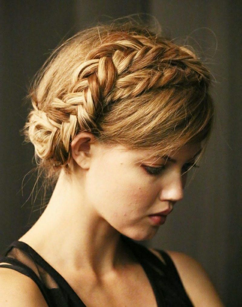 Gretchen Zopf hair