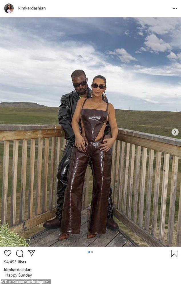 That makes two: Kanye West, 43, celebrated his wife Kim Kardashian, 39, becoming a billionaire in a tweet on Monday