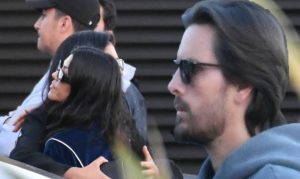 Kourtney Kardashian takes newly solitary ex-lover Scott Disick on uncommon lunch day with the youngsters