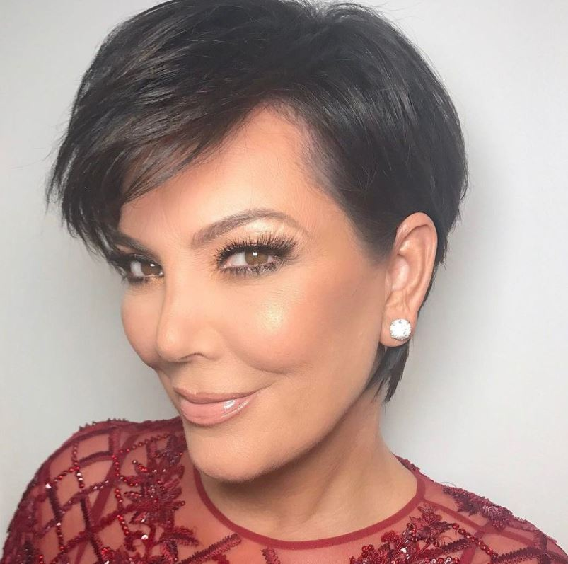 Kris Jenner Hairstyle