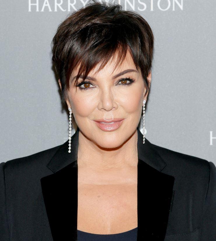 Kris Jenner's Pixie Haircut