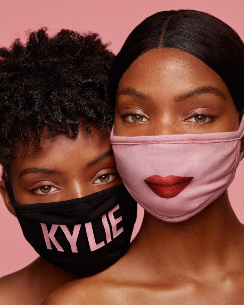 Kylie Jenner has launched a collection of face masks for Coronavirus