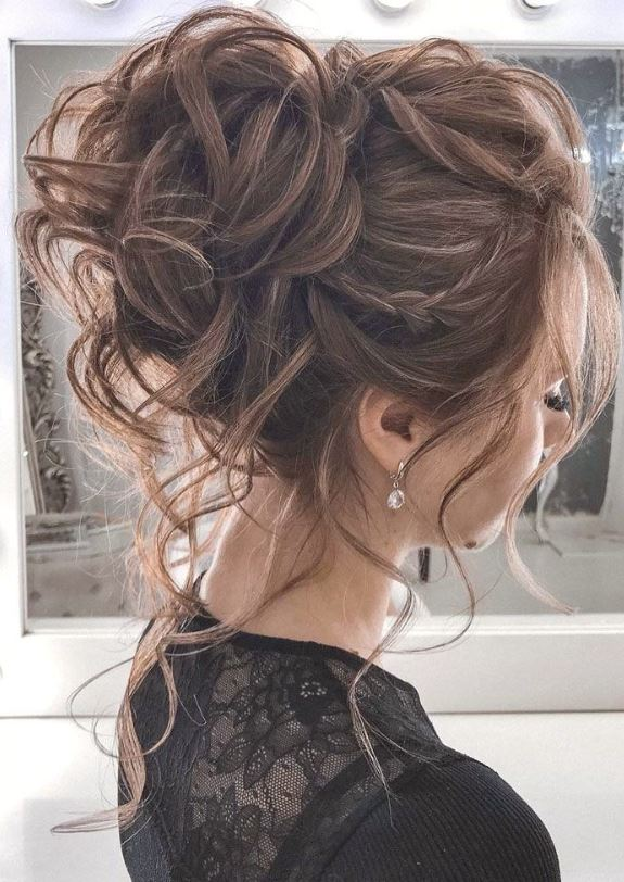 Messy UpDo for Party