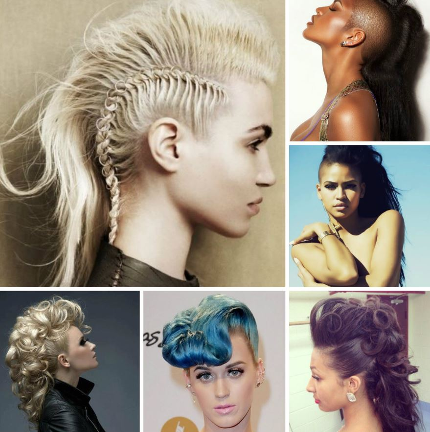 Mohawk birthday hairstyles