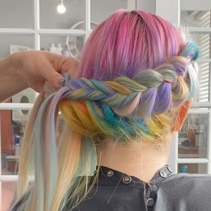 Russian Millennial Rave Hairstyles