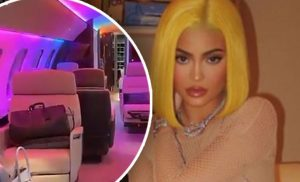 That's what Kylie Jenner's $ 50 million private plane looks like!