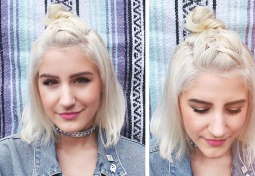 Top Knot Festival Hair